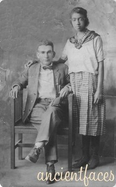 Mr. and Mrs Nicholson INTERRACIAL MARRIAGE (1923)    #bwwm #wmbw