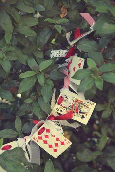 Vintage Alice in Wonderland Garland