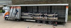 Overband loaded onto a truck ready for despatch to an overseas mobile plant builder for the industry Magnets, Recycling, Truck, Industrial, Plant, Trucks, Industrial Music, Upcycle, Plants