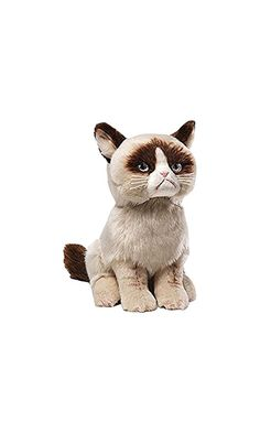 17.78$ - Gund Grumpy Cat Plush Stuffed Animal Toy from GUND- GUND combines time-tested- high-quality plush construction with contemporary designs to create huggable stuffed toys that appeal to every generation. Now you can show off your love for the internet s favorite kitty curmudgeon by bringing home your very own Grumpy Cat! This adorable 9  seated plush is a soft and realistic replica of Tardar Sauce- the ill-tempered meme sensation better (click on picture to read more...)