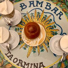 Bam Bar, Taormina - place to go for Granita Messina Sicily, Sicily Travel, Taormina Sicily, Honeymoon Planning, Sicily Italy, Wanderlust Travel, Places To Eat, Trip Advisor, Decorative Plates