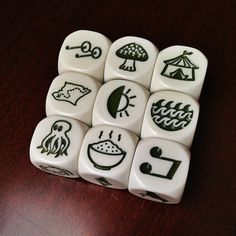 20 Ways to Use Rory's Story Cubes short sentence