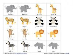 Match Games For Preschoolers