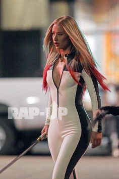 Iggy Azalea. THIS IS FOR BLACK WIDOW! IVE BEEN WAITING FOR THIS VIDEO