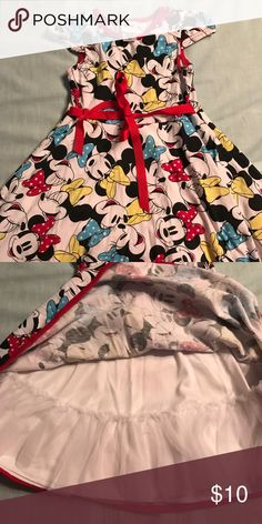 Disney Skater Dress Sz 4 Disney Skater Dress Sz 4. Worn once Disney Dresses Casual