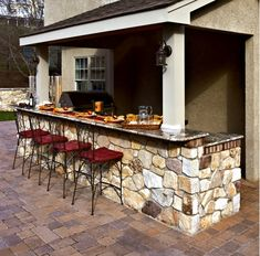 Outdoor Kitchen-Home and Garden Design Ideas