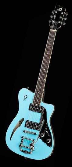 Dusenberg Guitars Caribou Narvik Blue    - <3'd by Stringjoy Custom Guitar…