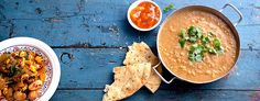 Dal - indisk linsegryte Lunches And Dinners, Meals, Asian Recipes, Ethnic Recipes, Vegan Lunches, Vegan Soups, Meal Planner, Couscous, Go Green