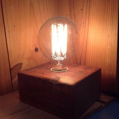 Wood Block lights from @Bengstonwoodworks are an easy way to add a little magic to any room