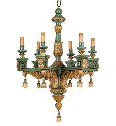 Mobilier, Scuptures et Objets d'Art de la Collection de Salvatore Iermano et Guiseppe Tirenna Auction's catalog from Wannenes Art Auctions - sale ends the 23 Septembre 2015 | Auction.fr | Page 6 Cafe Exterior, Silver Creek, Wood Chandelier, Bedroom Lamps, Objet D'art, Floor Lamp, Ceiling Lights, French Style, Lighting