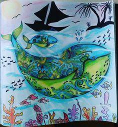 Lost ocean ztracený oceán Johanna Basford