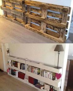 Over 60 Of The Best Diy Pallet Ideas Pallet Furniture Diy Diy Rustic Pallet Bookshelf 30 Diy Pallet Bookshelf Plans Instructions 10 Diy 3 Diy Pallet Bookshelf Pallet Diy Home Projects Beautiful Pallet Bookcase Wooden… Pallet Crafts, Diy Pallet Projects, Home Projects, Weekend Projects, Outdoor Projects, Sewing Projects, Diy Casa, Diy Pallet Furniture, Furniture Ideas