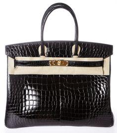 7c14d4ed951 Hermes Satchel Hermes Birkin, Hermes Bags, Hermes Handbags, Crocodile  Animal, Crocodile Handbags