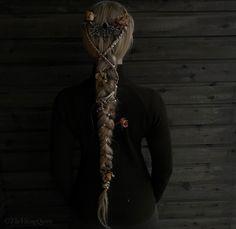 Viking braids by the Viking Queen on Instagram Haar Make-up, Viking Queen, Cute Hairstyles, Braided Hairstyles, Wedding Hairstyles, Hair Inspo, Hair Inspiration, Medieval Hairstyles, Viking Braids