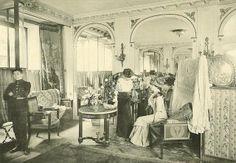 Les Createurs de La Mode 1910 - 10 - Galerie de Vente - Paquin    Paquin Salon ca 1910