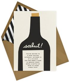 Wine Party invitation by Paperless Post