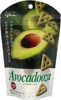 Glico Avocadoza — Wasabi & Soy Sauce (Sashimi Style) Flavor $2.60 http://thingsfromjapan.net/glico-avocadoza-wasabi-soy-sauce-sashimi-style-flavor/ #Japanese cracker #Japanese snack #delicious Japanese snack