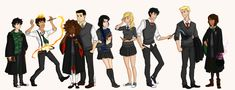 Percy Jackson meets Harry Potter by ~Riding-Lights on deviantART Love this. My two favorite series in one. (Percy Jackson is much better though).