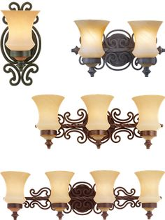 Kalco Hamilton Wrought Iron Collection - Brand Lighting Discount Lighting - Call Brand Lighting Sales 800-585-1285 to ask for your best price!