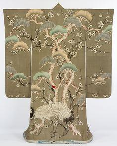 Kimono, Japan, 1850-1900- Victoria and Albert Museum