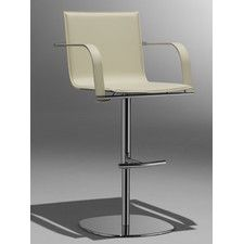 "Barstools + Counter Stools - Seat Height: Adjustable Height-Bar (28""-33"")-Counter (24""-27"")-Extra Tall (34""-40""), Arms: With Arms 