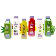Juice from the Raw - 3 Day Juice Whenever Cleanse Box - 18 Bottles