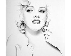 Marilyn Monroe Tattoo, Marylin Monroe, Marilyn Monroe Dibujo, Marilyn Monroe Stencil, Marilyn Monroe Wallpaper, Marilyn Monroe Painting, Marilyn Monroe Portrait, Marilyn Monroe Photos, Pencil Portrait Drawing