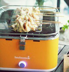 Tajskie szaszłyki na grillu węglowym Carlo Barbecook - najnowszy przepis w azjatyckim stylu. Curry, Kitchen Appliances, Crickets, Diy Kitchen Appliances, Curries, Home Appliances, Kitchen Gadgets