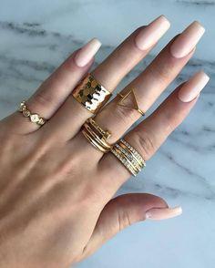 Loving these nude nails by Yes to everything! Repost: Nude never fails 💅 Nails & Rings Nude Nails, Stiletto Nails, Acrylic Nails, Hair And Nails, My Nails, Fail Nails, House Of Lashes, Nail Ring, Nail Treatment