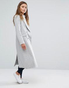 Image 4 ofNew Look Longline Tailored Coat