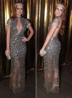 Marina Ruy Barbosa no Baile da Vogue - vestido Patricia Bonaldi
