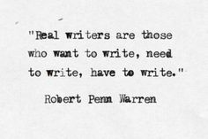 REAL WRITERS