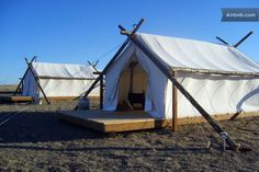 Luxury safari-style Tented Camp in Havre