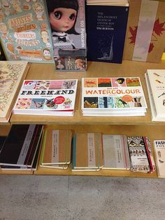 'Freehand' and 'Just Add Watercolour' - drawing and painting books by Helen Birch