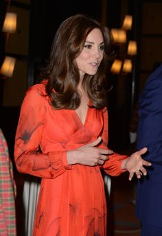 Pin for Later: Kate Middleton's Poppy Dress Is So Romantic, It Just Might Make You Blush