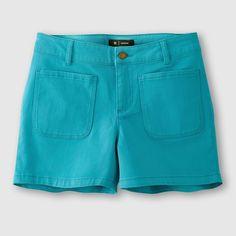 Short coton stretch