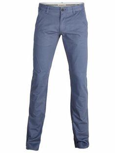 Three Paris v. indigo chino pants NOOS C, Vintage Indigo, main