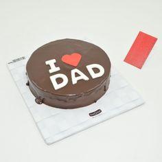 I Love DAD Chocolate Cake