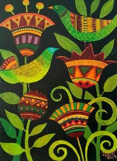 Drawing Sketches, Drawings, Nursery Paintings, Arte Popular, Bird Art, Axe, Landscape Art, Collage Art, Painted Furniture