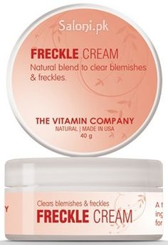 An advanced formula that visibly leads to the fading of dark spots, clear freckles and even skin tone.