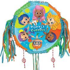 Pull String Bubble Guppies Pinata