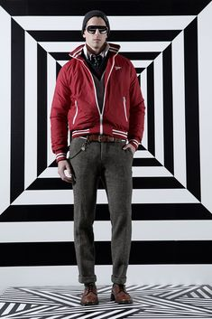 Gant by Michael Bastian Fall 2012 Menswear Fashion Show
