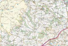 Haytor Vale, Lustleigh, Manaton, Ilsington & Sigford - back of the map