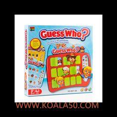 Juego de Mesa ¡Adivíname! - 4,53 €  Si quieres hacer un regalo original a los peques de la familia, no te pierdas el divertidojuego de mesa ¡Adivíname!. Ya verás cómo os lo pasáistodos juntos jugando en familia.2 tableros de...  http://www.koala50.com/regalos-para-ninos/juego-de-mesa-adiviname