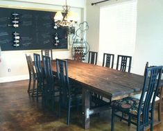 I dreamed of a having table large enough for his, mine, and others, but the cost was outrageous! With the help of my handy husband, we made it happen and for a…