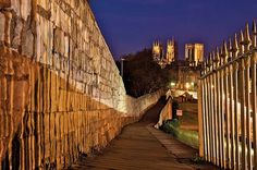 York has England's longest medieval city wall. The well-preserved fortification makes a picturesque two-hour trail around the heritage city. Visit Britain, York Minster, England And Scotland, City Break, Great Shots, Beautiful Places To Visit, British Isles, Beautiful Islands, Great Britain