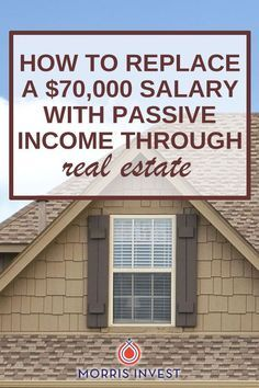 Simple formula - What if you could replace your salary from your 9-5 job with passive income through real estate investing? It sounds like a tall order, but it's actually quite attainable. Real estate investing case study.