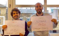 🇬🇧 Lorenzo & Miguel wünschen dir viel Kraft aus London!