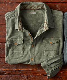 Shopping - Men's style, accessories, mens fashion trends 2020 Cargo Shirts, Boys Shirts, New Shirt Design, Shirt Designs, Denim Jeans Men, Denim Shirt, Casual Shirts For Men, Men Casual, Plain Shirts