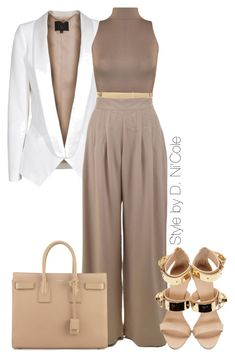 """""""Untitled #2239"""" by stylebydnicole ❤ liked on Polyvore featuring SLY 010, Giuseppe Zanotti, WearAll, MICHAEL Michael Kors and Yves Saint Laurent"""
